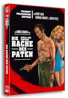 Die Rache des Paten (Limited Edition, Blu-ray+DVD) (1974) [FSK 18] [Blu-ray]
