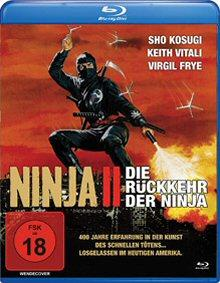 Ninja II - Die Rückkehr der Ninja (1983) [FSK 18] [Blu-ray]