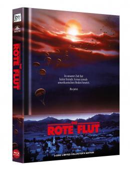 Die Rote Flut (Limited Wattiertes Mediabook, Blu-ray+DVD) (1984) [FSK 18] [Blu-ray]