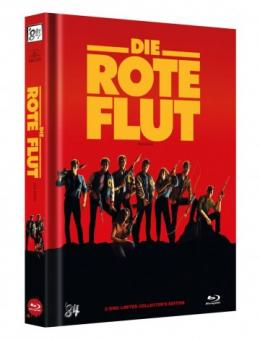 Die Rote Flut (Limited Mediabook, Blu-ray+DVD, Cover B) (1984) [FSK 18] [Blu-ray]