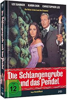 Die Schlangengrube und das Pendel (Limited Mediabook, Blu-ray+DVD) (1967) [Blu-ray]