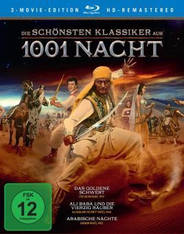 Die schönsten Klassiker aus 1001 Nacht (3 Movie Edition) [Blu-ray]