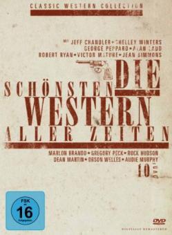 Die schönsten Western aller Zeiten - Sammlerbox (10 DVDs)