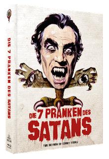 Die 7 Pranken des Satans (Limited Mediabook, Blu-ray+DVD, Cover A) (1971) [Blu-ray]