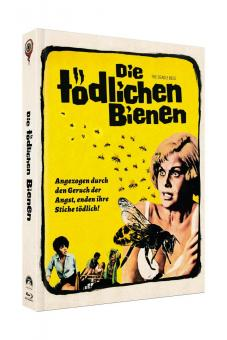 Die Tödlichen Bienen (Limited Mediabook, Blu-ray+DVD, Cover B) (1967) [Blu-ray]