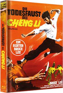 Bruce Lee - Die Todesfaust des Cheng Li (Limited Mediabook, Blu-ray+DVD) (1972) [Blu-ray]
