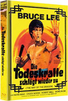 Bruce Lee - Die Todeskralle schlägt wieder zu (Limited Mediabook, Blu-ray+DVD) (1972) [Blu-ray]