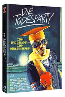 Die Todesparty (Limited Mediabook, Blu-ray+DVD, Cover A) (1986) [FSK 18] [Blu-ray]