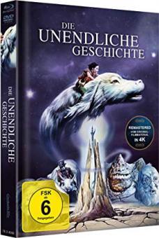 Die unendliche Geschichte (Limited Mediabook, Blu-ray+DVD, Cover A) (1984) [Blu-ray]