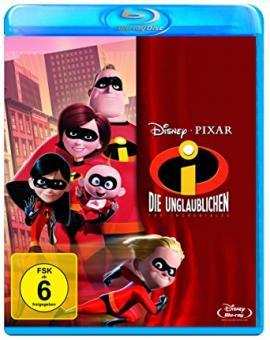 Die Unglaublichen - The Incredibles (2004) [Blu-ray]
