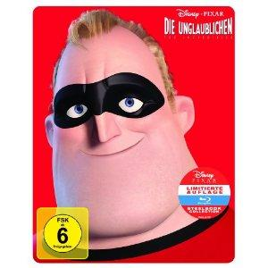 Die Unglaublichen - The Incredibles (Limited Edition, Steelbook) (2004) [Blu-ray]