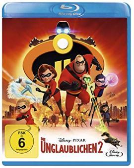Die Unglaublichen 2 (2018) [Blu-ray]