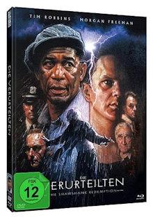 Die Verurteilten (Limited Mediabook, Blu-ray+DVD, Cover B) (1994) [Blu-ray]