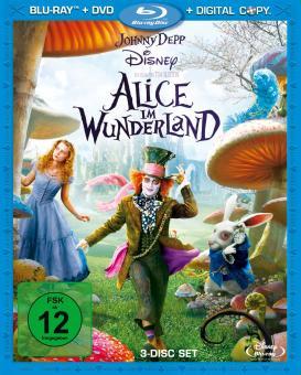 Alice im Wunderland (plus DVD + Digital Copy) (2009) [Blu-ray]