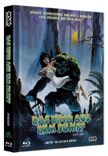 Das Ding aus dem Sumpf (Limited Mediabook, Blu-ray+DVD, Cover A) (1982) [Blu-ray]