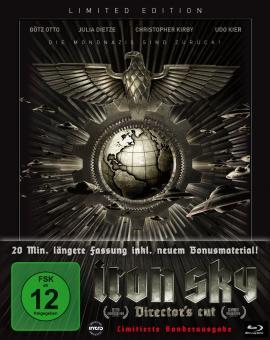Iron Sky - Wir kommen in Frieden! (Limited Steelbook, Director's Cut) (2012) [Blu-ray]