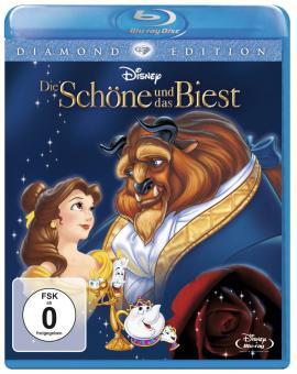 Die Schöne und das Biest (Diamond Edition, 2 Discs) (1991) [Blu-ray]