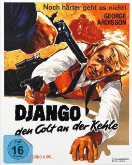 Django - Den Colt an der Kehle (Limited Mediabook, Blu-ray+DVD, Cover A) (1968) [Blu-ray]