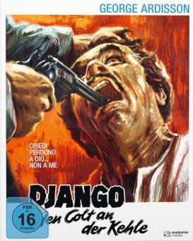 Django - Den Colt an der Kehle (Limited Mediabook, Blu-ray+DVD, Cover B) (1968) [Blu-ray]