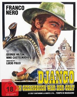 Django - Sein Gesangbuch war der Colt (Limited Mediabook, Blu-ray+DVD, Cover B) (1966) [FSK 18] [Blu-ray]