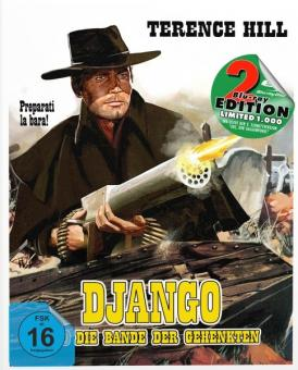 Django und die Bande der Gehenkten (Limited Mediabook, Blu-ray+DVD, Cover B) (1968) [Blu-ray]