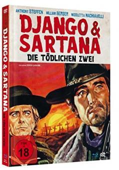 Django & Sartana - Die tödlichen Zwei (Limited Mediabook, Blu-ray+DVD) (1969) [FSK 18] [Blu-ray]