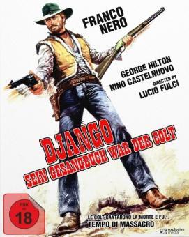 Django - Sein Gesangbuch war der Colt (Limited Mediabook, Blu-ray+DVD, Cover A) (1966) [FSK 18] [Blu-ray]