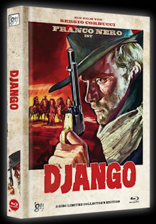 Django (Limited Mediabook, Blu-ray+DVD, Cover A) (1966) [FSK 18] [Blu-ray]
