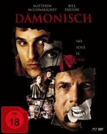 Dämonisch (Limited Mediabook, Blu-ray+2 DVDs) (2001) [FSK 18] [Blu-ray]