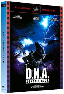D.N.A. - Genetic Code (2 Disc Limited Mediabook, Cover A) (1997) [Blu-ray]