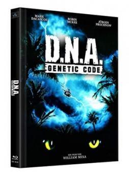 D.N.A. - Genetic Code (2 Disc Limited Mediabook, Cover B) (1997) [Blu-ray]