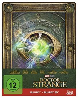 Doctor Strange (Limited Steelbook, 3D Blu-ray+Blu-ray) (2016) [3D Blu-ray]