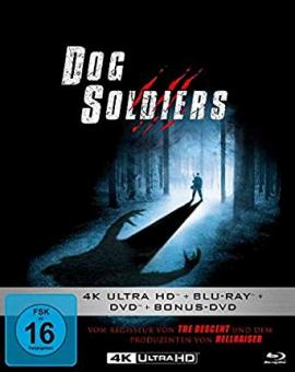 Dog Soldiers (Limited Mediabook, 4K Ultra HD+Blu-ray+2 DVDs) (2002) [4K Ultra HD]