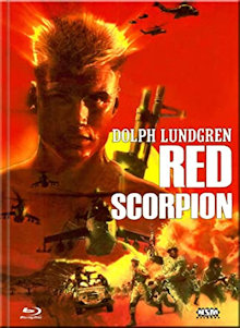 Red Scorpion (Limited Mediabook, Blu-ray+DVD, Cover B) (1989) [FSK 18] [Blu-ray]