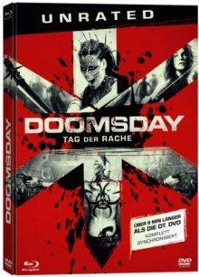 Doomsday - Tag der Rache (Uncut, Mediabook, DVD + Blu-ray) (2008) [FSK 18] [Blu-ray]