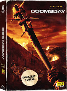 Doomsday - Tag der Rache (Uncut, Limited VHS-Edition) (2008) [FSK 18] [Blu-ray]