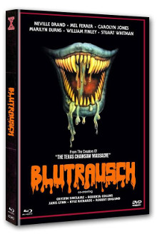Eaten Alive - Blutrausch (Limited Mediabook, Blu-ray+DVD, Cover D) (1977) [FSK 18] [Blu-ray]