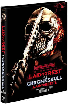 Laid to Rest 1&2 (Limited Mediabook, 2 Disc) [FSK 18] [Blu-ray]