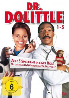 Dr. Dolittle 1 - 5 (5 DVDs)