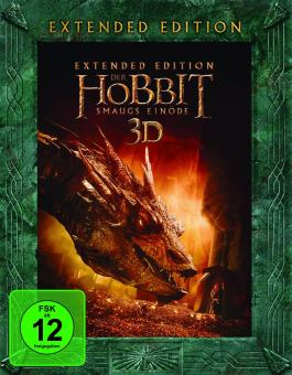 Der Hobbit: Smaugs Einöde (5 Disc Extended Edition, 3D Blu-ray+Blu-ray) (2013) [3D Blu-ray]