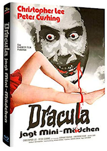 Dracula jagt Mini-Mädchen (Limited Mediabook, Cover A) (1972) [Blu-ray]