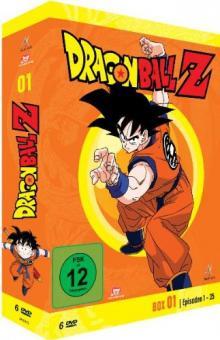 Dragonball Z - Box 1/10 (Episoden 1-35) (6 DVDs)