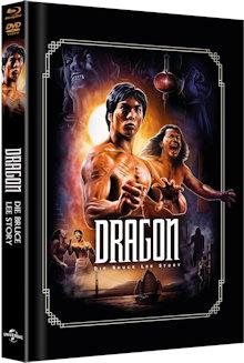 Dragon - Die Bruce Lee Story (Limited Mediabook, Blu-ray+DVD, Artwork Cover) (1993) [FSK 18] [Blu-ray]