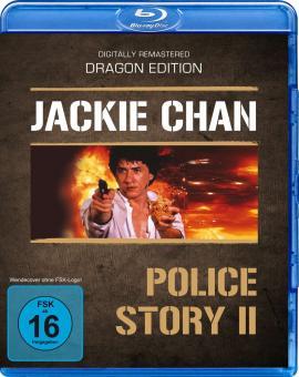 Police Story 2 (Uncut Version) (1988) [Blu-ray]