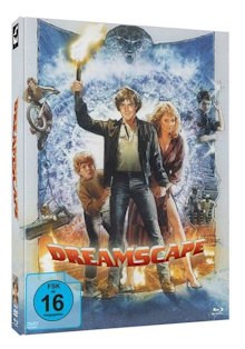 Dreamscape - Höllische Träume (Limited Mediabook, Blu-ray+DVD, Cover C) (1984) [Blu-ray]