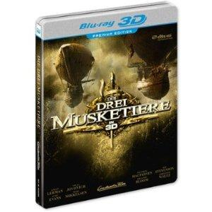 Die drei Musketiere (Limitierte 3D Premium Edition im Steelbook) (2011) [3D Blu-ray]