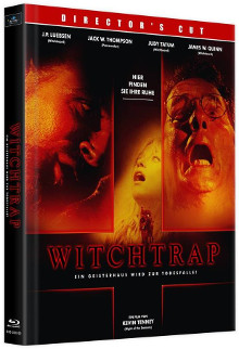 Witchtrap (2 Disc Limited Mediabook, Cover D) (1989) [FSK 18] [Blu-ray]