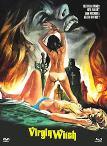 Virgin Witch (Limited Mediabook, Blu-ray+DVD, Cover C) (1972) [FSK 18] [Blu-ray]