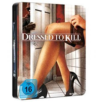 Dressed to Kill (Uncut, Steel-Edition) (1980) [Blu-ray]