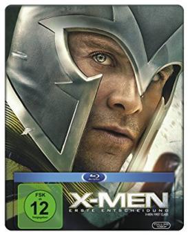 X-Men - Erste Entscheidung (Limited Steelbook) (2011) [Blu-ray]